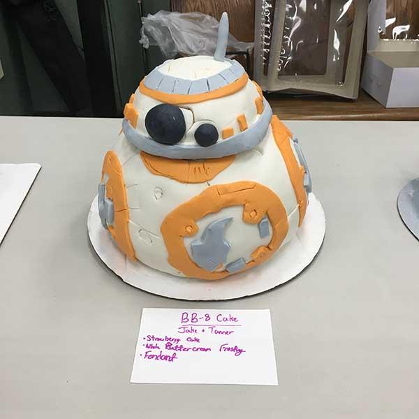 BB8 Cake